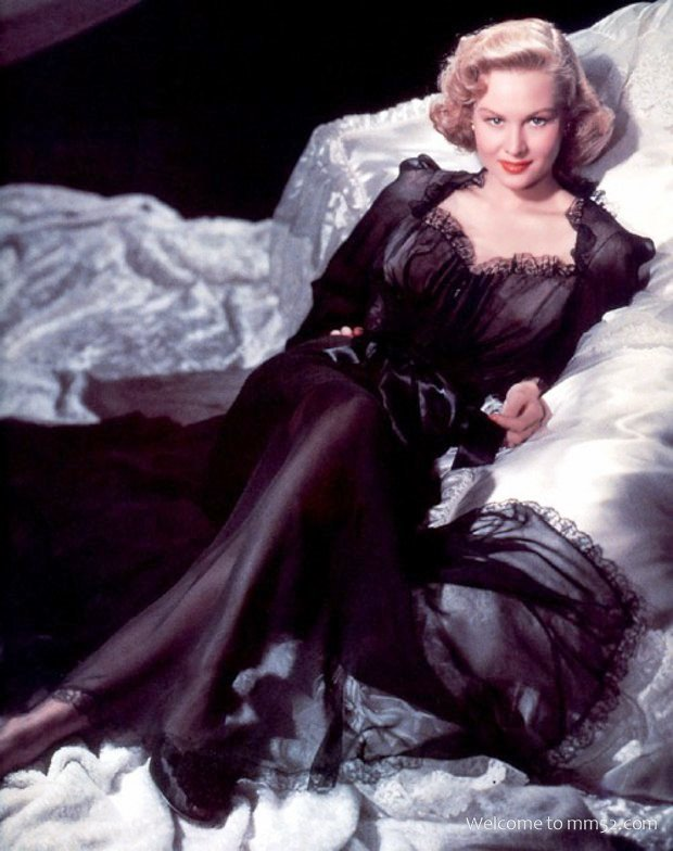 actress Virginia Mayo