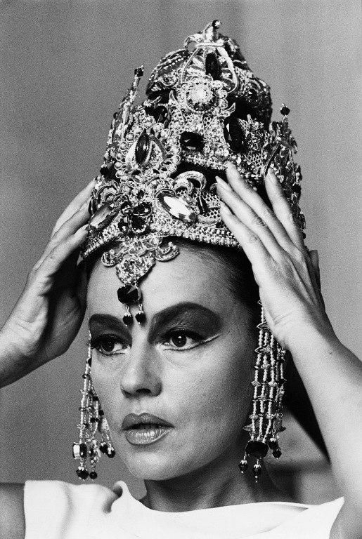 in the role of Mata Hari