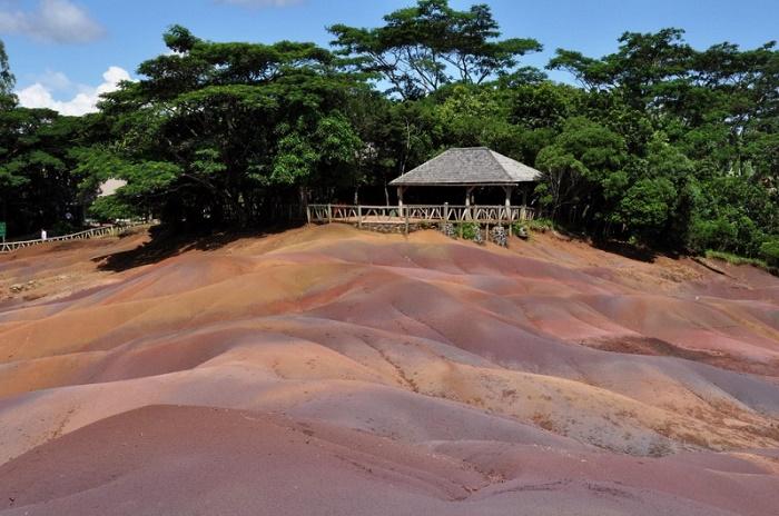 landscape of Chamarel