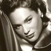 Polish actress, Jewish beauty Bella Darvi