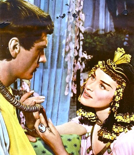 1954 film Egyptian, starring Bella Darvi