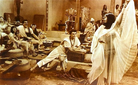 Scene from 'The Egyptian', Bella Darvi